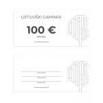 Dovanų kuponas 100 EUR vertės 1
