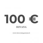 Dovanų kuponas 100 EUR vertės
