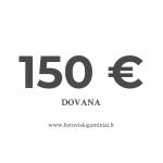 Dovanų kuponas 150 EUR vertės