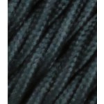 Pintas trigyslis tekstilinis kabelis, juodas, 3 x 0,75 mm² 1