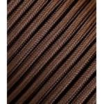 Rudas trigyslis tekstilinis kabelis 3x2,5 mm²