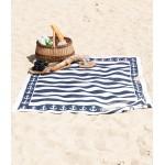 Medvilninis paplūdimio pledas su inkariukais 1