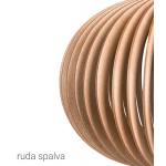 Cilindro formos pakabinamas medinis šviestuvas 'Sofia XS'