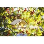 Medinė lesykla paukščiams Volungės 1