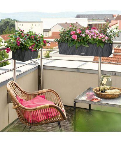 Didelis balkonis augalų vazonas Lechuza Balconera Cottage 80 1