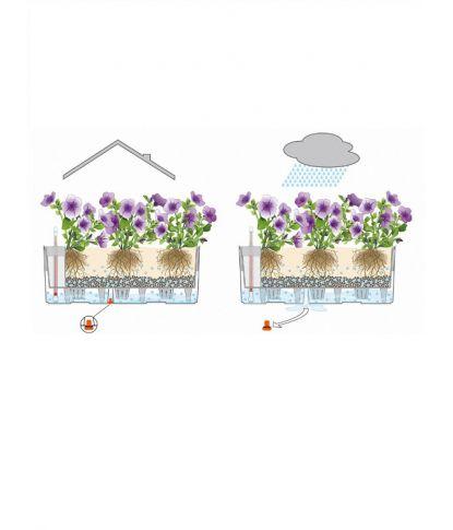 Didelis balkonis augalų vazonas Lechuza Balconera Cottage 80 5
