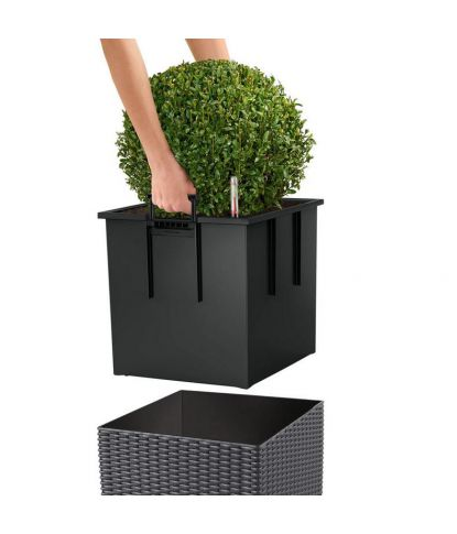 Stilingas augalų vazonas Lechuza Cube Cottage 40 3