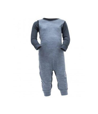 Pilka Merino vilnos pižama Devold