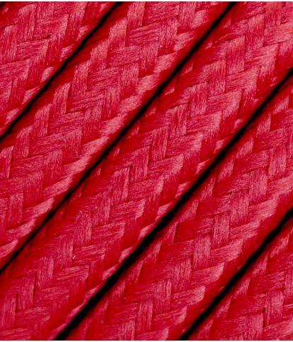 Raudonas tekstilinis kabelis 2x0,75 mm² 1