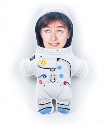 """Personalizuota pagalvėlė """"Kosmonautas"""" 1"""