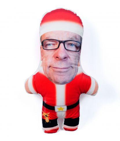 """Personalizuota pagalvėlė """"Kalėdų senelis"""" 1"""