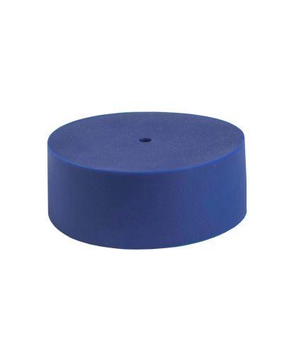 Tamsiai mėlynas silikoninis lubų gaubtelis dark blue