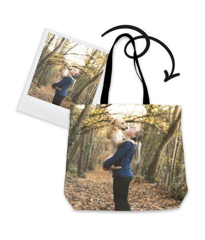 Personalizuotas krepšys su augintinio nuotrauka