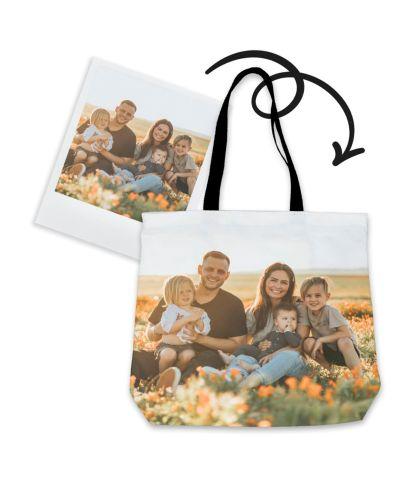 Personalizuotas krepšys su šeimos nuotrauka 2