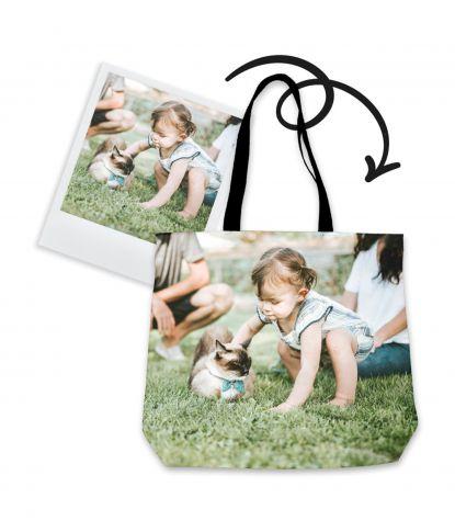 Personalizuotas krepšys su šeimos nuotrauka 3