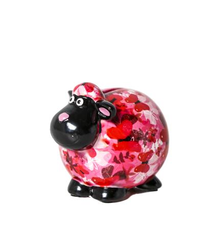Keramikinė vaikiška taupyklė pinigams Avytė Giselle