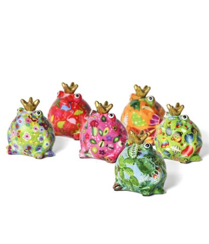 Maža keramikinė pinigų taupyklė vaikams Varlytė Fredis 1