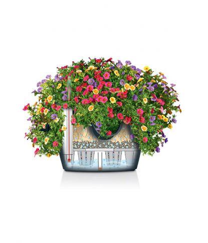 Prieskonių gėlių vazonas Lechuza Cascadino 4