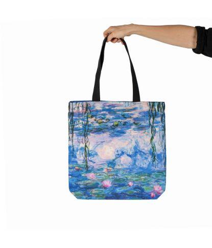 "Krepšys Claude Monet ""Vandens Lelijos"""