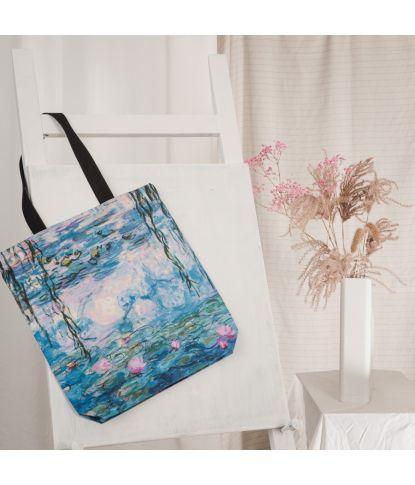 "Krepšys Claude Monet ""Vandens Lelijos"" 1"