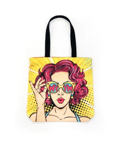 Stilingas krepšys 'WOW'