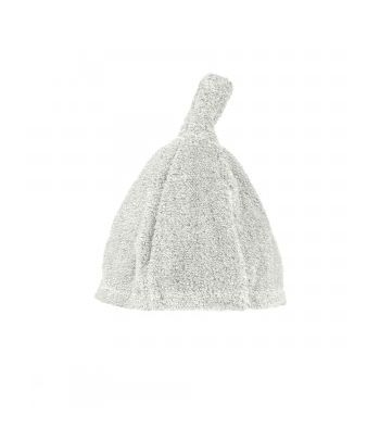 Švelni lininė pirties kepurė