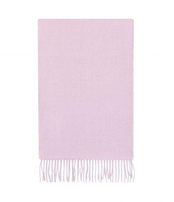 Švelnus rožinis alpakos jauniklių vilnos šalikas