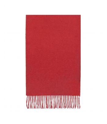 Raudonas švelnus alpakos vilnos šalikas