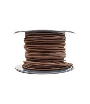 Didmeninė kaina 2x0,75 mm² kabelis rudas 100 m