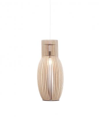 Pailgas medinis kabinamas lubų šviestuvas 'Milan S'