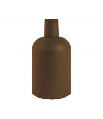 Rudas silikoninis lemputės lizdo gaubtas brown New