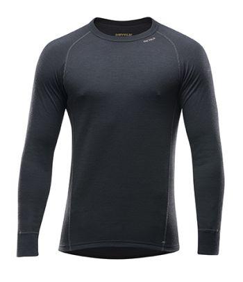 Juodi apatiniai termo marškinėliai vyrams Devold