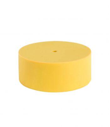 Geltonas silikoninis lubų gaubtelis yellow