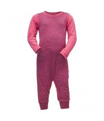Rožinė Merino vilnos pižama Devold