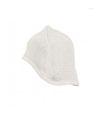 Natūralaus lino pirties kepurė