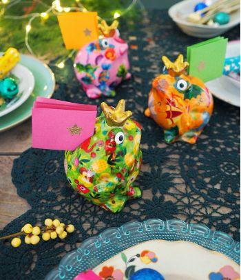 Maža keramikinė pinigų taupyklė vaikams Varlytė Fredis