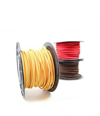 Didmeninė kaina 2x0,75 mm² kabelis geltonas 100 m