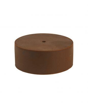 Silikoninis lubų gaubtas brown