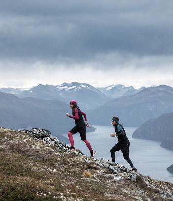 Apatinė Merino vilnos termo palaidinė bėgimui Devold running