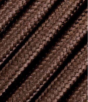 Rudas trigyslis tekstilinis kabelis 3x1,5 mm²
