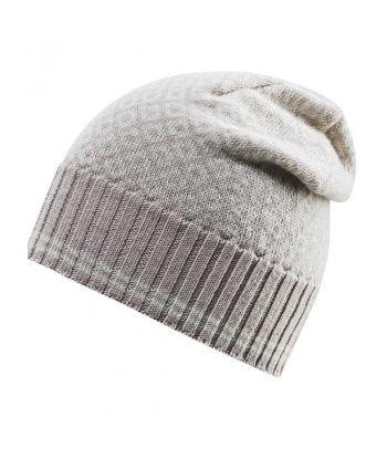 Šilta vilnonė moteriška kepurė Devold Dune/offwhite