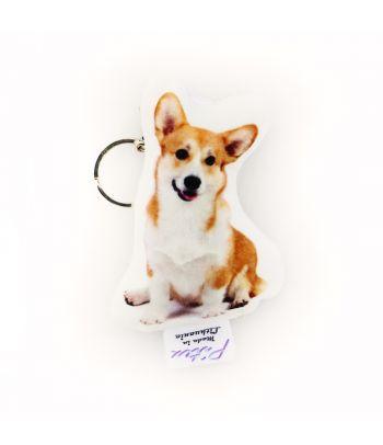 Personalizuotas raktų pakabukas su šuns nuotrauka