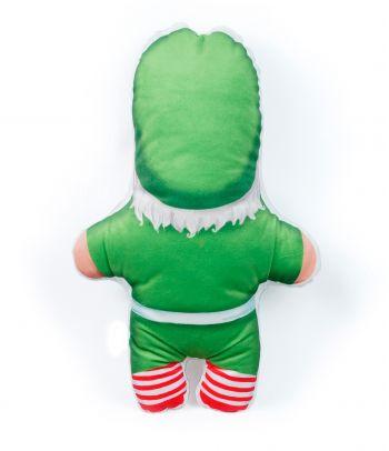 """Personalizuota pagalvėlė """"Kalėdų senelio padėjėjas"""""""