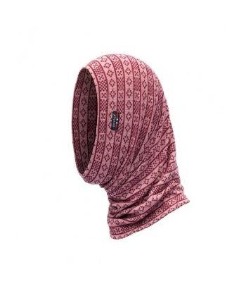 Švelni merino vilnos kepurė mova - kaukė Devold Alnes Foxglove