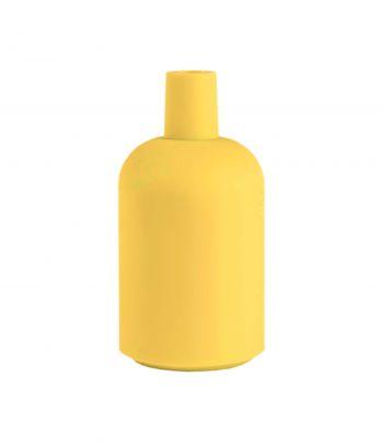 Geltonas silikoninis lemputės lizdo gaubtas yellow New