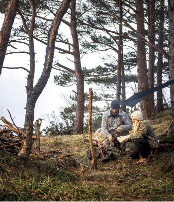 Dvisluoksnės apatinės merino vilnos kelnės moterims Devold
