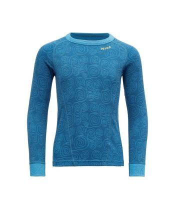Merinosų vilnos marškinėliai ilgomis rankovėmis Devold
