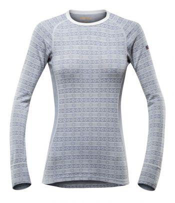 Apatiniai moteriški termo marškinėliai Devold Grey