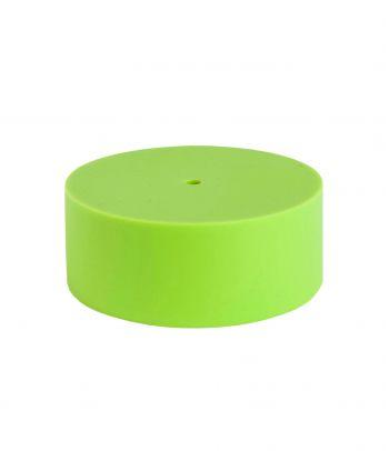 Ryškus silikoninis lubų gaubtas lime green
