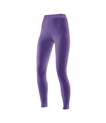 Merino vilnos apatinės termo kelnės Devold Purple